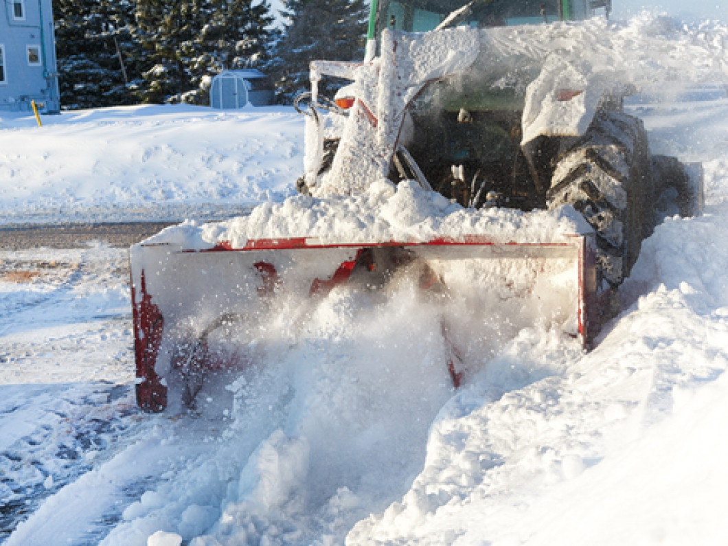 Keep your property safe with snow removal service